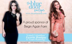 Blue Door ad